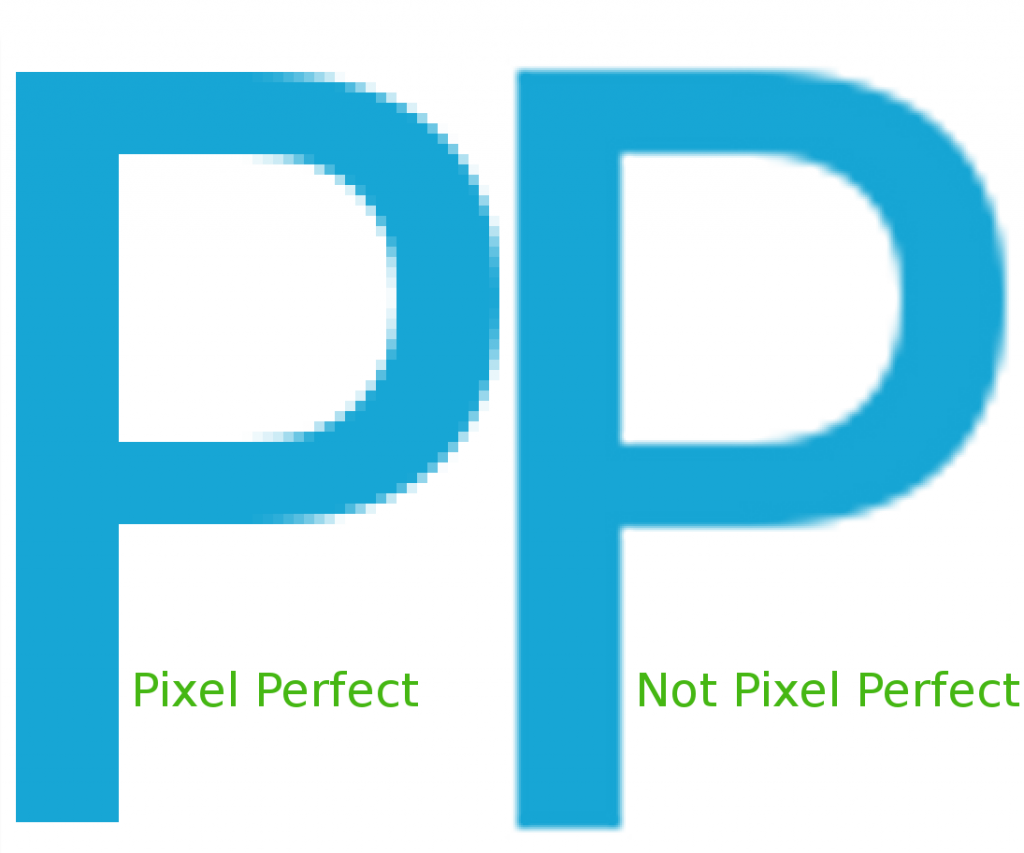 Pixel Perfect Example