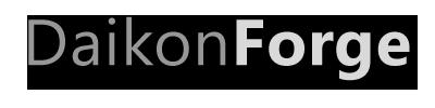Daikon Forge GUI